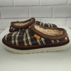 UGG X Pendleton mens 12 Tasman plaid slippers